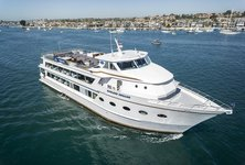 Enjoy Marina Del Ray on a elegant motor yacht