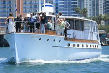 Enjoy cruising in San Diego on a 72'  classic motor yacht