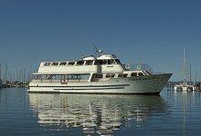 Enjoy cruising in San Francisco on sleek motor yacht