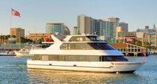Explore Alameda a sleek motor yacht