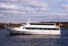 Charter 98' motor yacht in San Francisco for parties & events