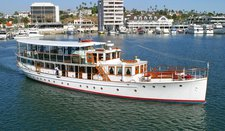 Enjoy cruising in Newport Beach aboard this exquisite motor yacht
