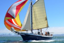 Enjoy sailing in Sausalito on 80' classic schooner