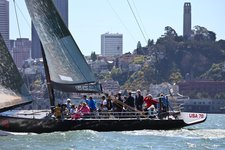 Experience thrill on an International America's Cup Class racing yacht