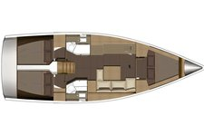 thumbnail-4 Dufour 38.0 feet, boat for rent in Horta, PT