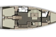 thumbnail-3 Dufour 41.0 feet, boat for rent in Ponta Delgada, PT