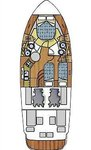 thumbnail-8 Azimut / Benetti Yachts 39.0 feet, boat for rent in Split region, HR