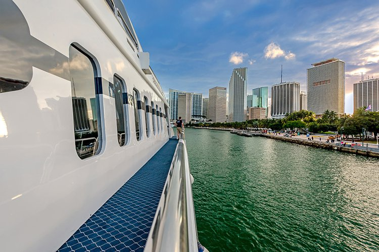 Boat for rent Austal 111.0 feet in Miami, FL