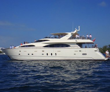 Have fun in Bermuda onboard 100' magnificent motor yacht