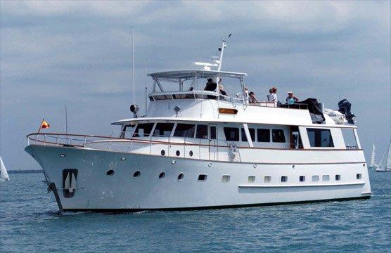 Enjoy Fort Lauderdale onboard this elegant motor yacht