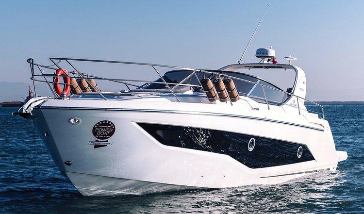 Cranchi's 38.0 feet in Split region