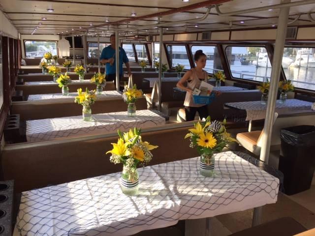 Mega yacht boat rental in Freeport, NY