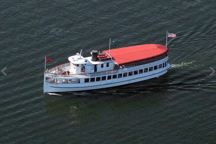 Motor yacht boat for rent in Boston