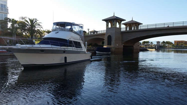 Explore Oxnard onboard this elgant motor yacht