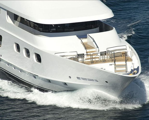 Experience Pure luxury & comfort onboard 143' yacht