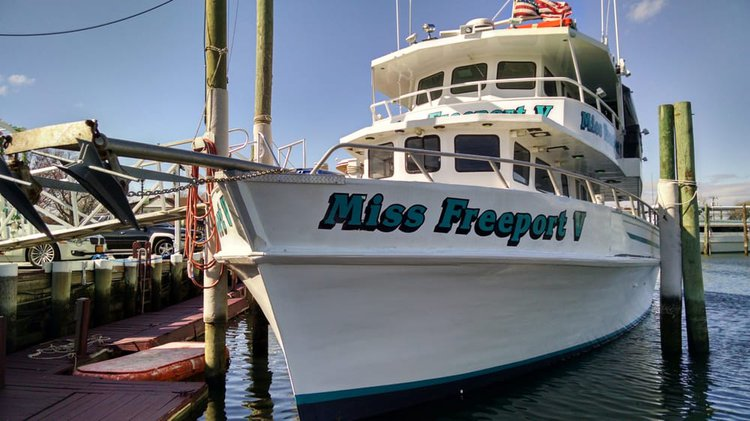 Discover Freeport surroundings on this Custom Custom boat