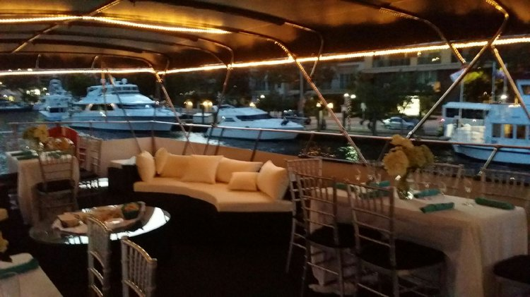 Up to 47 persons can enjoy a ride on this Motor yacht boat
