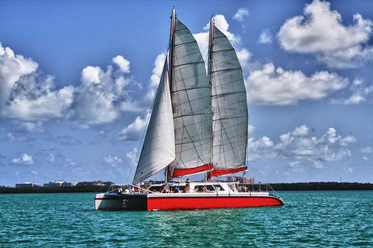Have Fun onboard one of largest sailing catamaran in North America