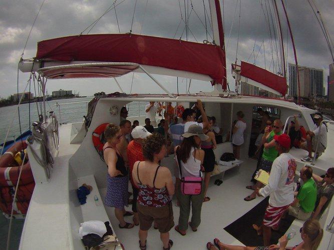 Catamaran boat for rent in Fort Lauderdale,