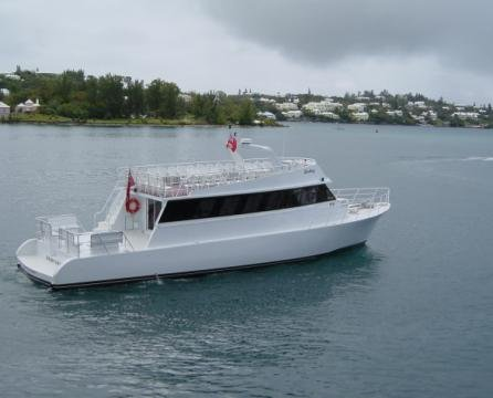 This 78.0' Custom cand take up to 100 passengers around St. Georges
