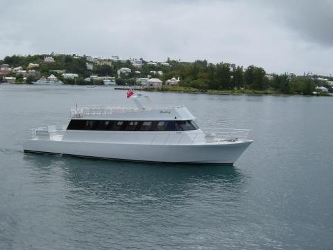 Up to 100 persons can enjoy a ride on this Motor yacht boat