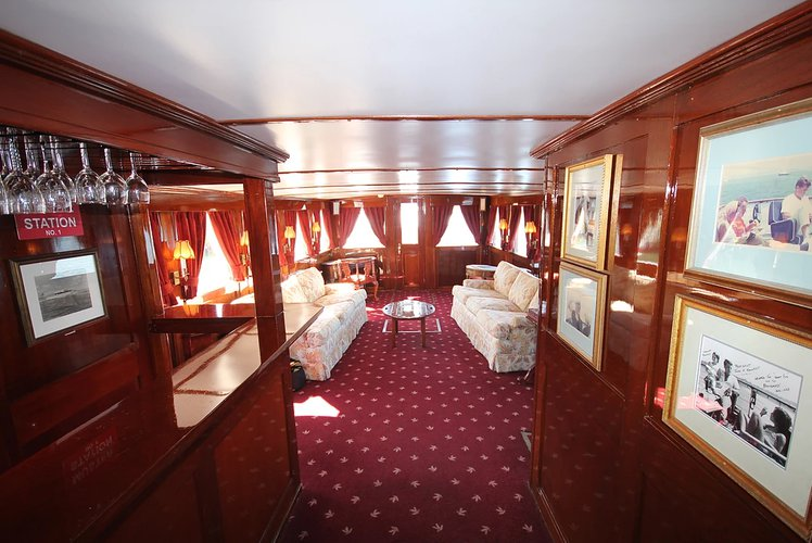 Up to 70 persons can enjoy a ride on this Motor yacht boat