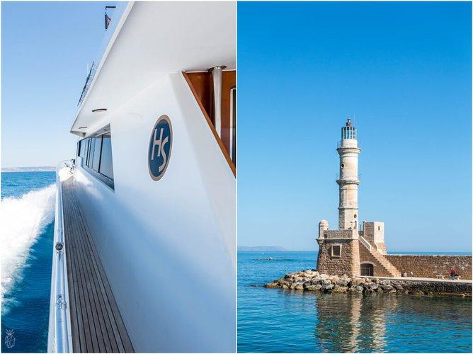 Motor yacht boat rental in Marina Zea, Greece