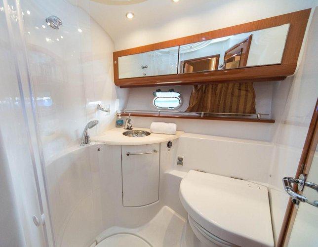 Discover Dubrovnik region surroundings on this Prestige 42 Fly Jeanneau boat