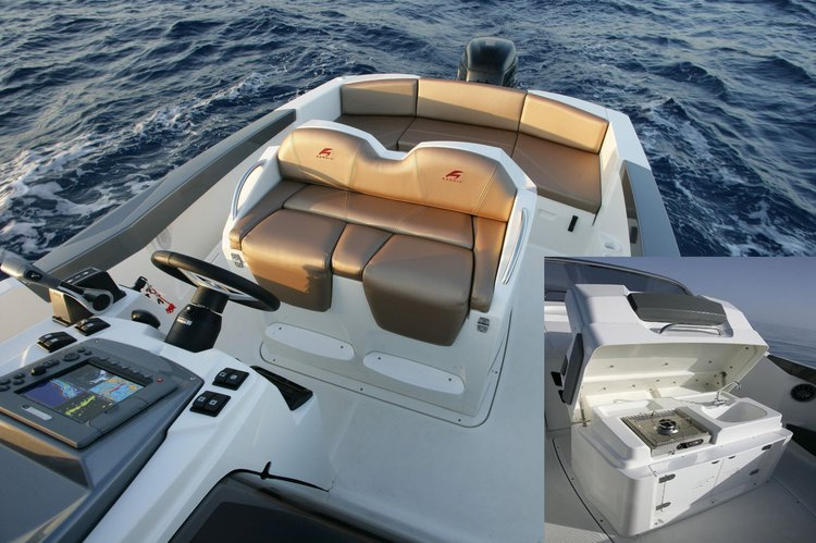 Classic boat rental in Trogir,