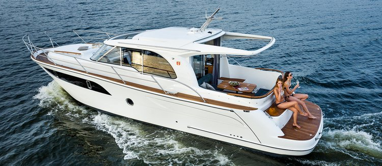 Rent this Marex Marex 375 for a true nautical adventure