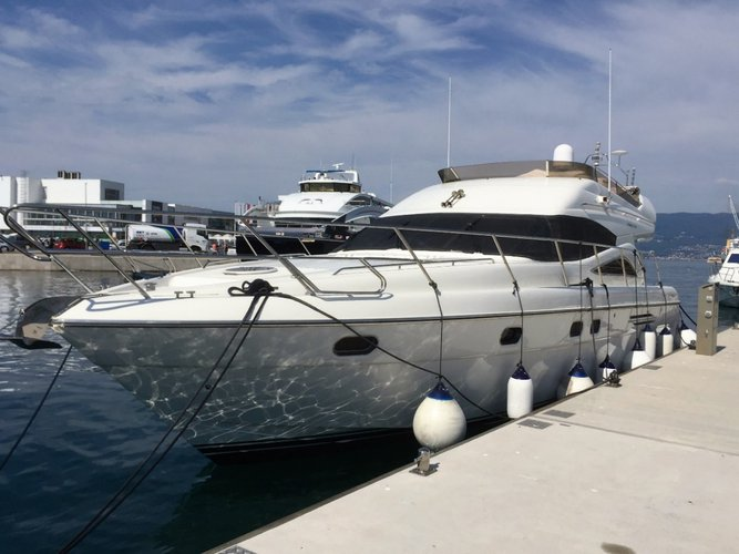 Enjoy Šibenik region in style on our Princess Yachts