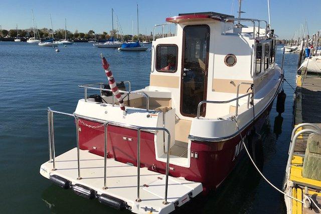 Boating is fun with a Trawler in Brooklyn