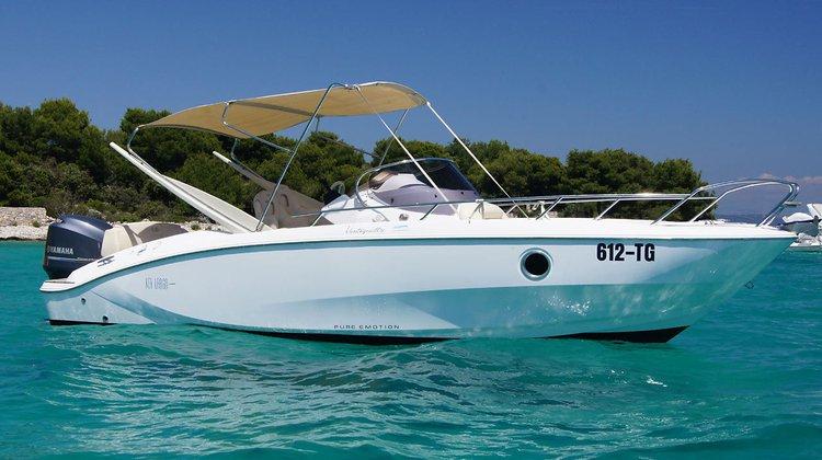 Boat for rent Sessa Marine 22.0 feet in Zadar region, Croatia