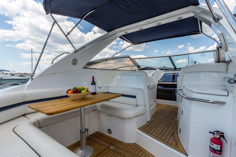 Motor yacht boat for rent in Split region