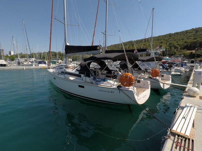 Discover Split region surroundings on this Salona 38 AD Boats boat