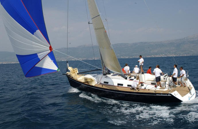 Jump aboard this beautiful AD Boats Salona 45