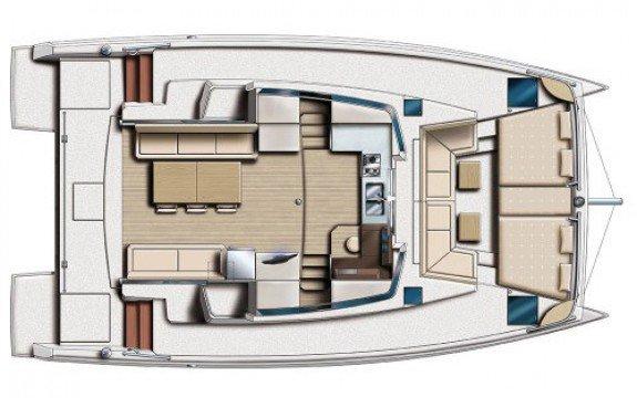 Catamaran boat rental in La Marina,