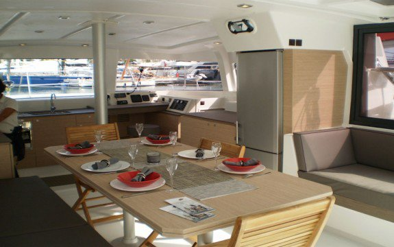 Catamaran boat rental in La Marina,