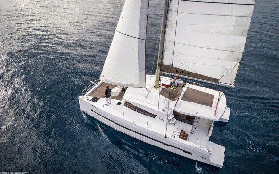 Enjoy Spain onboard elegant 40' catamaran
