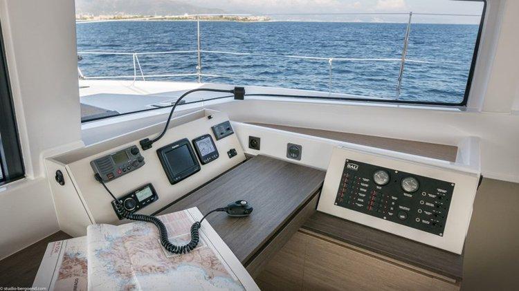 Catamaran boat rental in Blue Lagoon,