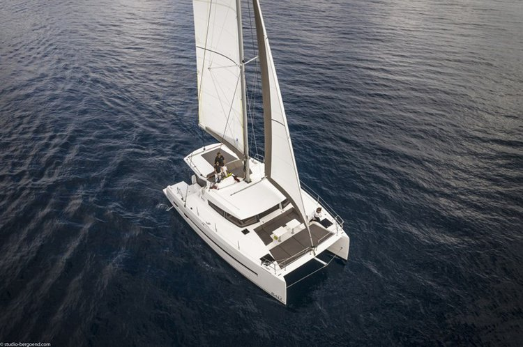Indulge in the luxury onboard this splendid Catamaran