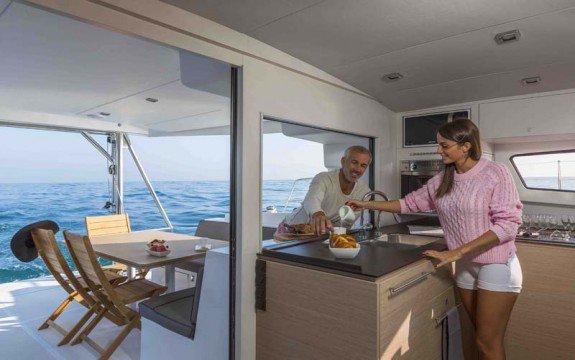 Boating is fun with a Catamaran in Palma, Illes Balears