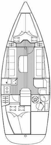 Boat for rent Bavaria Yachtbau 31.0 feet in Yachtclub Seget (Marina Baotić), Seget Donji,