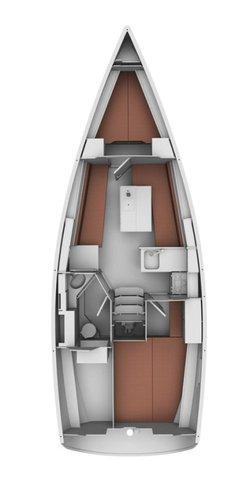 Discover Šibenik region surroundings on this Bavaria Cruiser 32 Bavaria Yachtbau boat