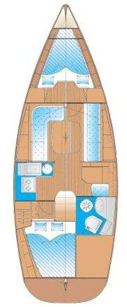 Boat for rent Bavaria Yachtbau 34.0 feet in Cyclades, Greece