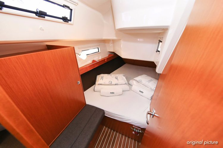 This 37.0' Bavaria Yachtbau cand take up to 7 passengers around Istra