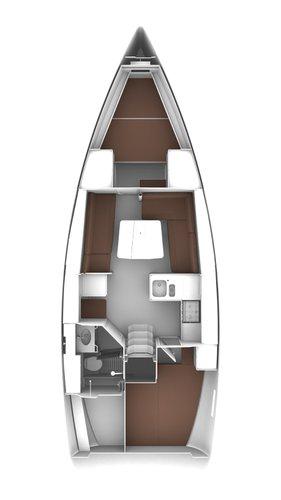 This 37.0' Bavaria Yachtbau cand take up to 6 passengers around Saronic Gulf