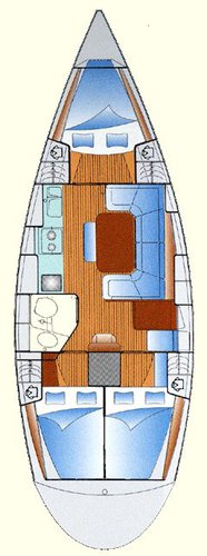 Discover Saronic Gulf surroundings on this Bavaria 37 Bavaria Yachtbau boat