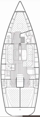This 38.0' Bavaria Yachtbau cand take up to 8 passengers around Split region