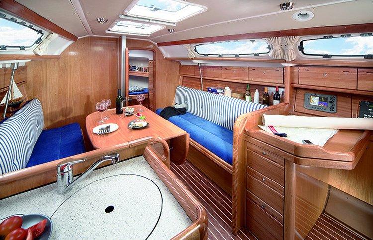 Discover Ionian Islands surroundings on this Bavaria 39 Cruiser Bavaria Yachtbau boat